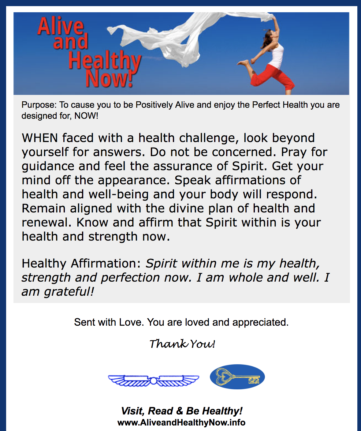 Spiritual Answers when Faced with a Health Challenge